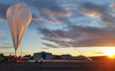 Gonflage d'un ballon stratosphérique